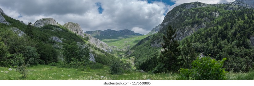 Beautiful landscape in national park Durmitor, Montenegro