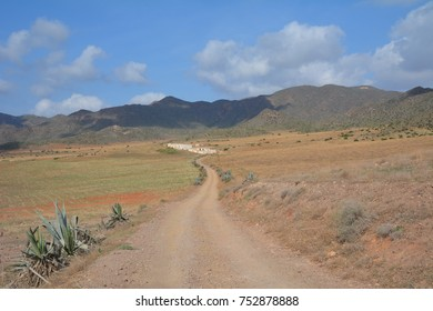Beautiful landscape, Natural Park Cabo de Gata, Almeria, Andalusia, Spain,Europe