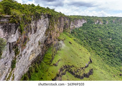 Beautiful landscape of the nature of the Kaieteur National Park, Guyana, South America