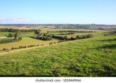 Beautiful landscape near Desvres, Regional Natural Park des Caps et Marais d'Opale, France