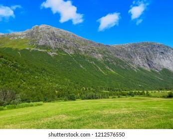 beautiful landscape in Møre og Rømsdal, Norway