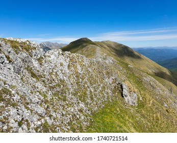 a beautiful landscape on Oslea Ridge, Valcan Mountains, Romania