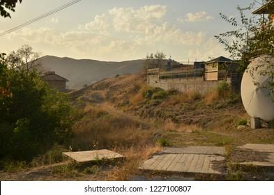 Beautiful landscape photografed in Crimea