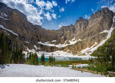 Beautiful landscape photography in Glacier National Park Montana