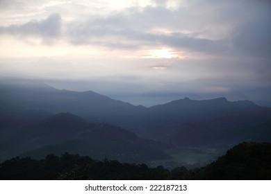 Beautiful landscape in Pokhara valley