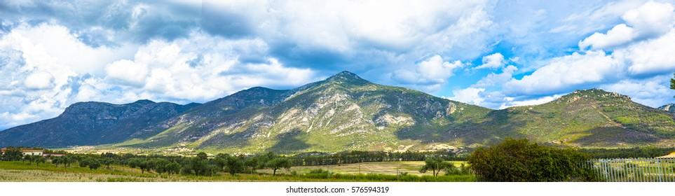 Beautiful landscape in Sardinia
