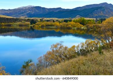 Beautiful landscape in South Island, New Zealand