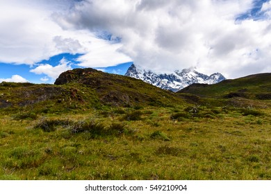 Beautiful landscape in the Torres del Paine National Park, Patagonia, Chile