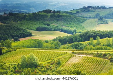 Beautiful landscape in Toscany,Italy