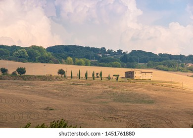 beautiful landscape of the Tuscan countryside