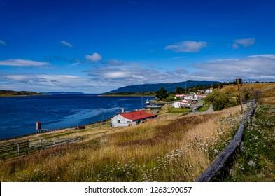 A beautiful landscape from Ushuaia, Tierra del Fuego, Argentina