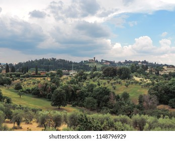 Beautiful landscape view of Florence - Florence, Italy