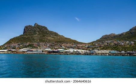 Beautiful landscape view of hout bay