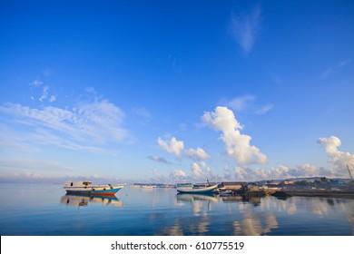 Beautiful Landscape of Wakatobi Island Indonesia