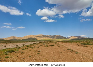 Beautiful landscape of Zagros Mountains in South-West of Iran