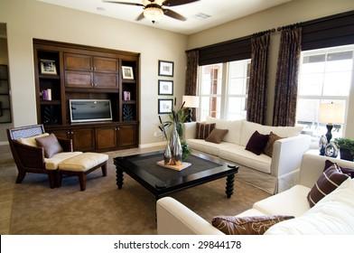 Beautiful large executive home living room area