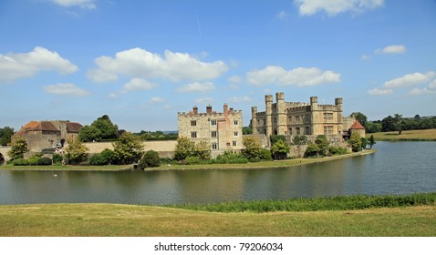 Beautiful Leeds Castle on a summer's day