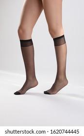 Beautiful legs with various hosiery