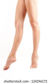 Beautiful legs of woman