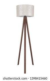 beautiful light floor lamp adapts to the environment