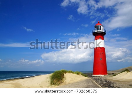 Beautiful Light House - Landscape wide view