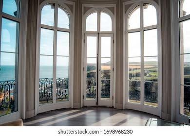 Beautiful Light Observatory Windows 360 View Beach Mountain Cliff Sunlight Decor Indoors Architecture