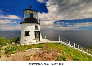 Beautiful lighthouse by Owls Head