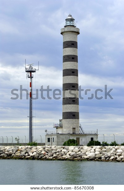 beautiful lighthouse in Italy