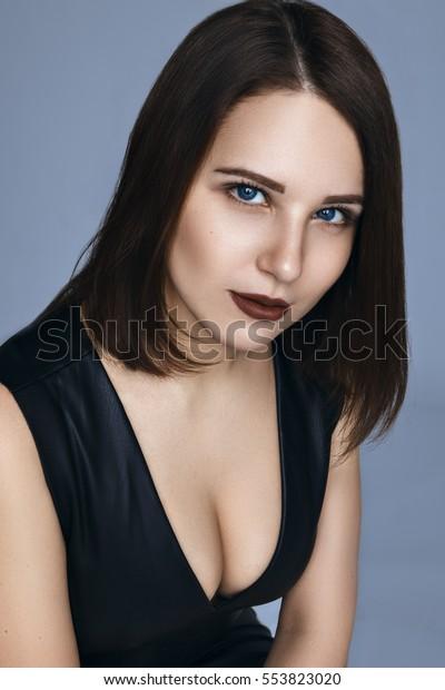 Beautiful Lightskinned Girl Stock Photo Edit Now 553823020