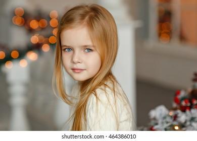 The girl beautiful