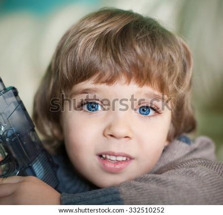 Beautiful Little Blonde Hair Boy Has Stock Photo Edit Now