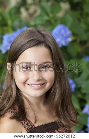 Tiny brown teen