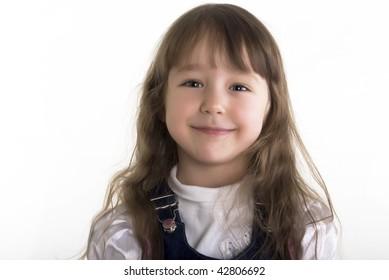 Beautiful little girl: posing