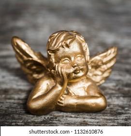 Beautiful little gold angel