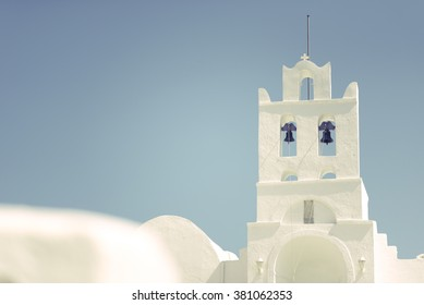 Beautiful little greek church of Chrisopigi in Sifnos