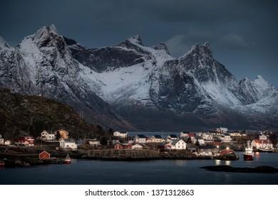 Beautiful Lofoten in Winter, Norway