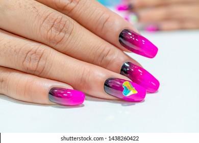 Nail Art Images, Stock Photos & Vectors | Shutterstock