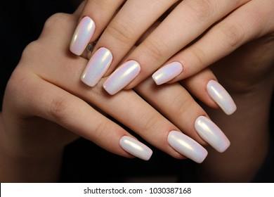Acrylic Nails Art Images Stock Photos Vectors Shutterstock