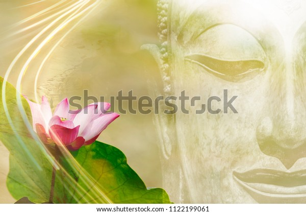 Beautiful Lotus Flower Buddha Image Put Stock Photo Edit Now