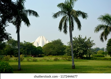 Beautiful lotus temple