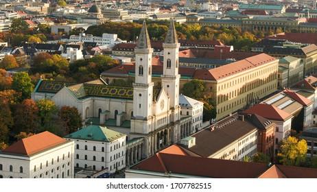 The beautiful ludwigschurch in Munich