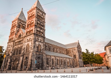 Beautiful Lund Cathedral in Sweden
