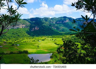 Viñales is a beautiful and lush valley in Pinar del Río province of Cuba.