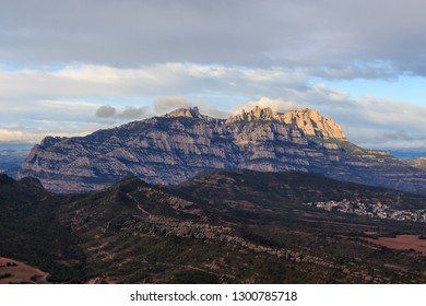The beautiful and magical mountain of Montserrat in all its splendor