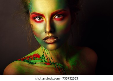 Body Painting Images Stock Photos Vectors Shutterstock