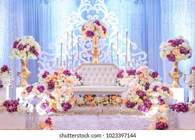 beautiful malaysian malay wedding dais