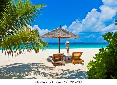 Beautiful Maldive beach