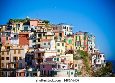 Beautiful Manarola, Cinque Terre, Italy