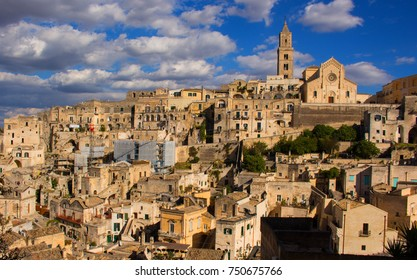 Beautiful Matera, Italy, a UNESCO World Heritage Site