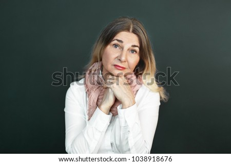 60 year old mature women